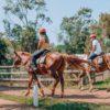 passeio a cavalo na fazenda três quedas