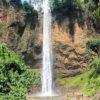 Cachoeira do saltão vista de frente.