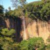 cachoeira vista de frente