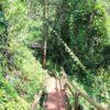 Trilha na Cachoeira Saltão em Brotas